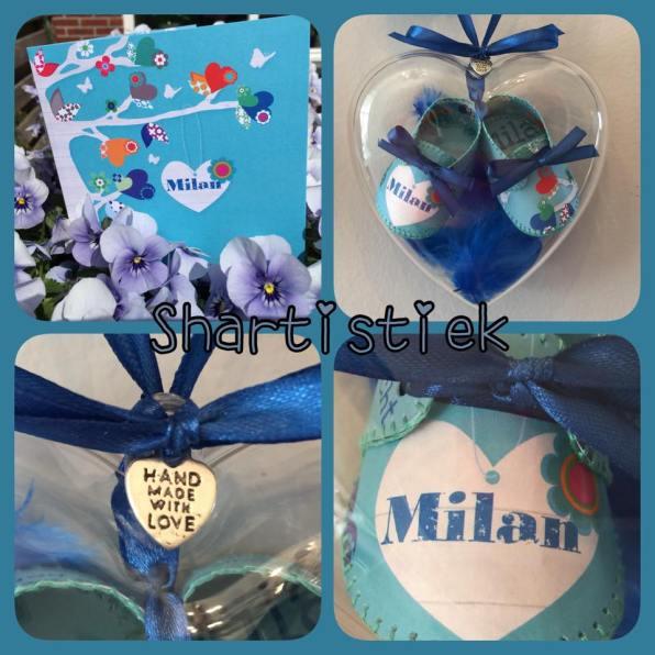 Geboorteschoentjes Milan