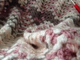 Gehaakte deken van Shartistiek