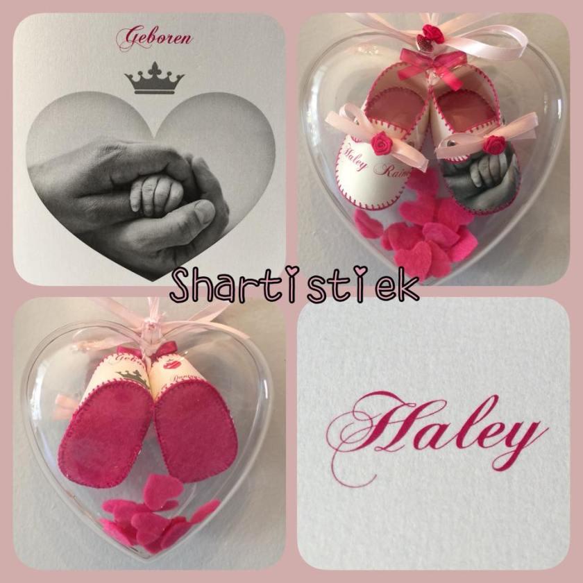 Geboorteschoentjes Haley