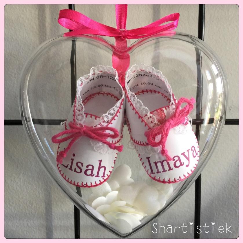 Geboorteschoentjes van Lisah Imaya