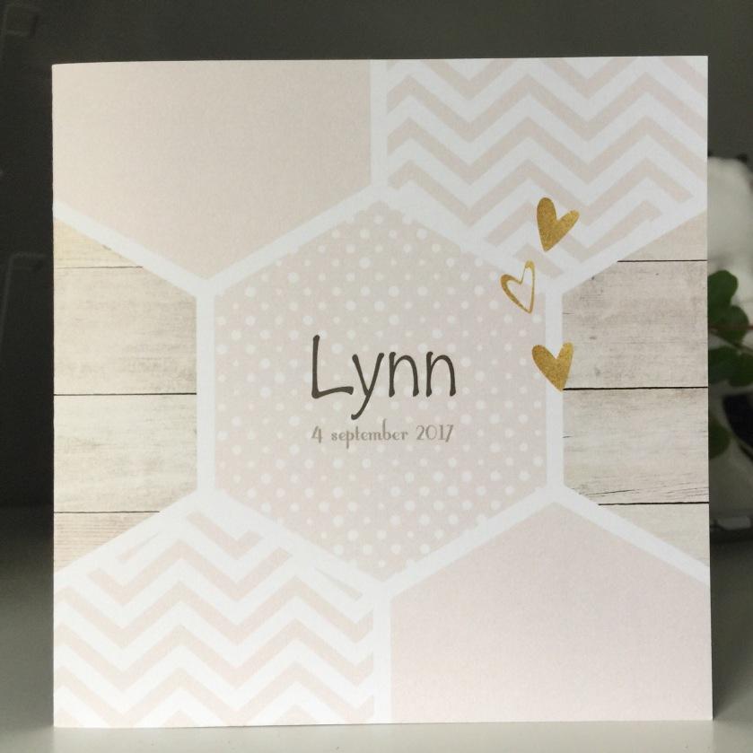 Geboortekaartje Lynn